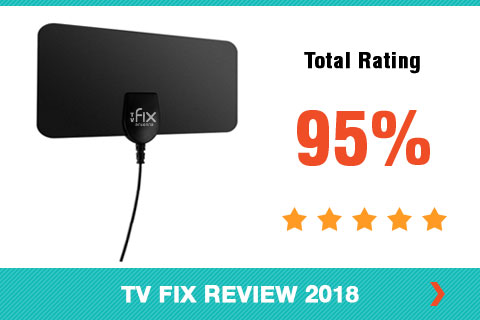 TV Fix Antenna 2018 Shopper Review Rating Card Side Bar Image
