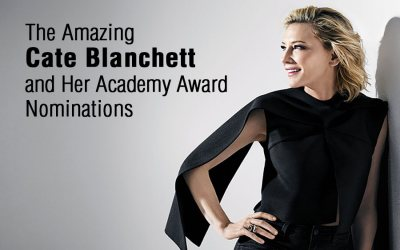 The Amazing Cate Blanchett and Her Academy Award Nominations
